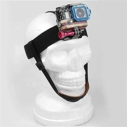 Knmaster Sjcam Çene Destekli Kafa Bandı Head Strap