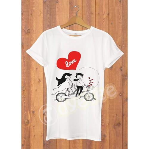 Dyetee İkisiklet Bayan T-Shirt