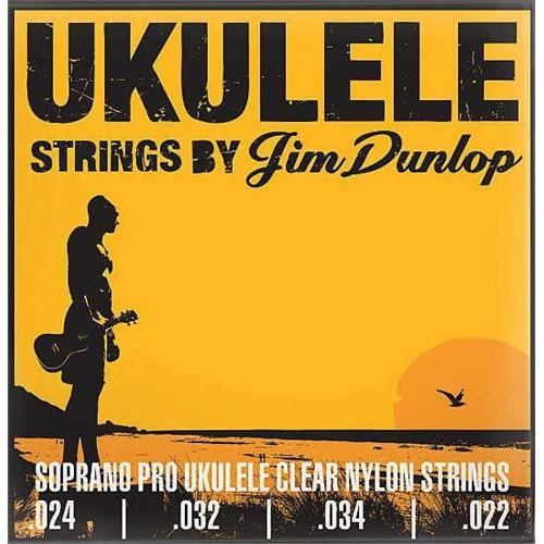 Ukulele Teli Jim Dunlop Duy301 Soprano Pro