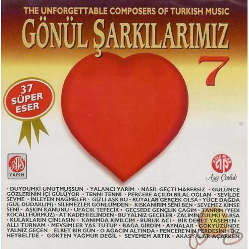 Gönül Şarkılarımız 7 (cd)