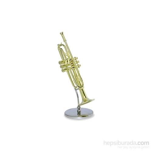 Minyatür Trompet Standlı
