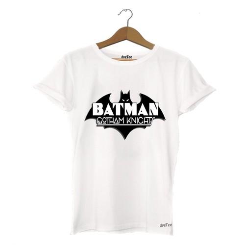 Dyetee Batman Gotham Knight Bayan T-Shirt
