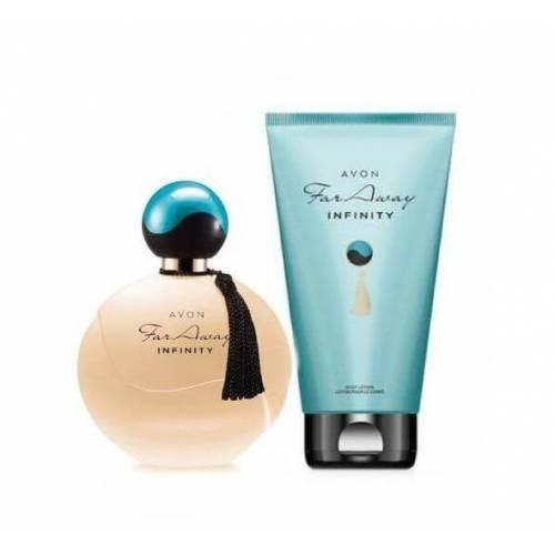Avon Far Away Infinity Edp 50 Ml Bayan Parfüm 2'Li Set