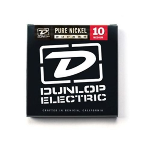 Jim Dunlop 10-46 Pure Nickel Elektro Gitar Teli
