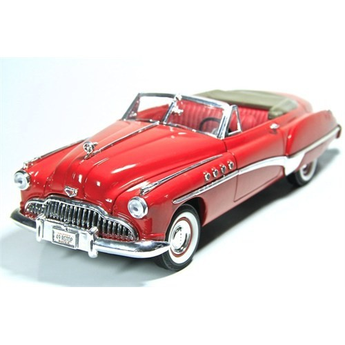 Motormax 1:18 1949 Buick Roadmaster -Kırmızı