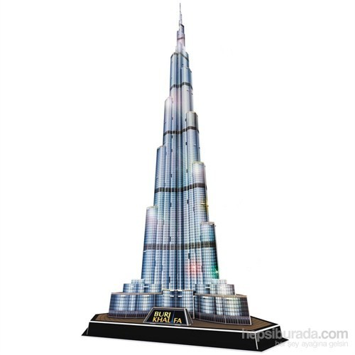 Cubic Fun 3D 136 Parça Led Puzzle Burj Khalifa