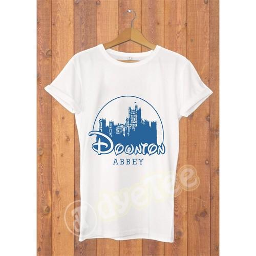 Dyetee Downton Abbey Bayan T-Shirt