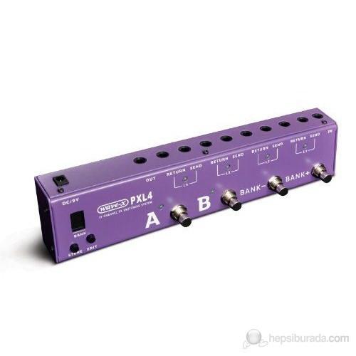 JOYO PXL4 4 Kanal Analog Efekt Kontrol Pedalı