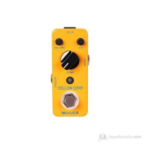 Mooer Yellow Comp Compressor Elektro Gitar Pedalı