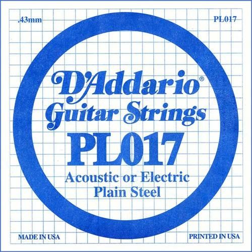Daddario Pl017 Elektro Gitar Tek Tel