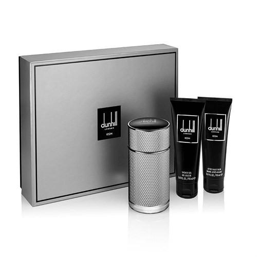 Dunhill Icon Erkek Edt 100 Ml Erkek Parfüm +90Ml Tıraş Sonrası Balm + 90 Ml Duş Jeli Set