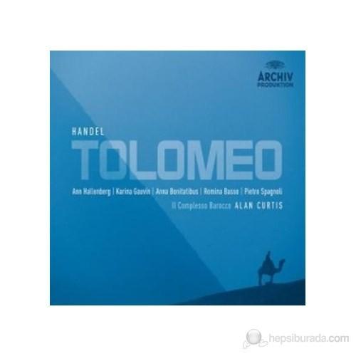 Alan Curtis - Handel: Tolomeo (3 Cd)
