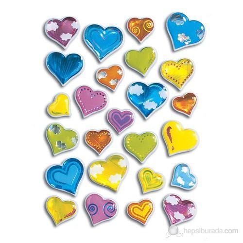 Herma Çocuk Etiketleri Kalp Taş