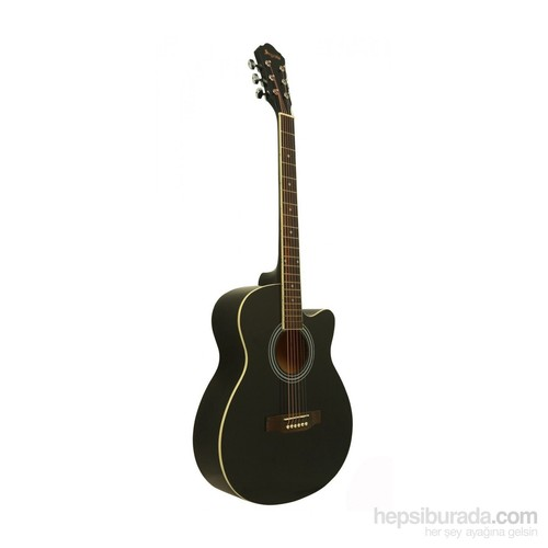Segovia Gitar Akustik Cutaway SGA40BK