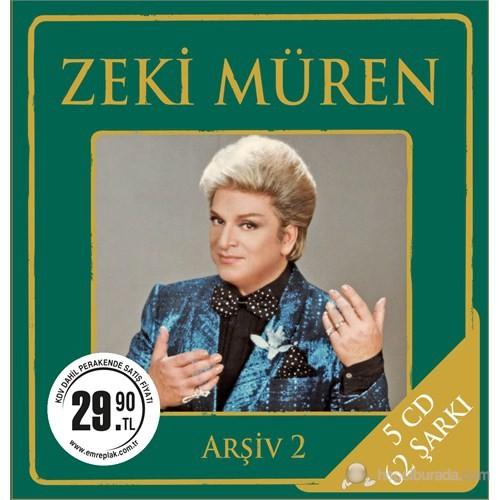 Zeki Müren - Arşiv 2 (5CD Box)