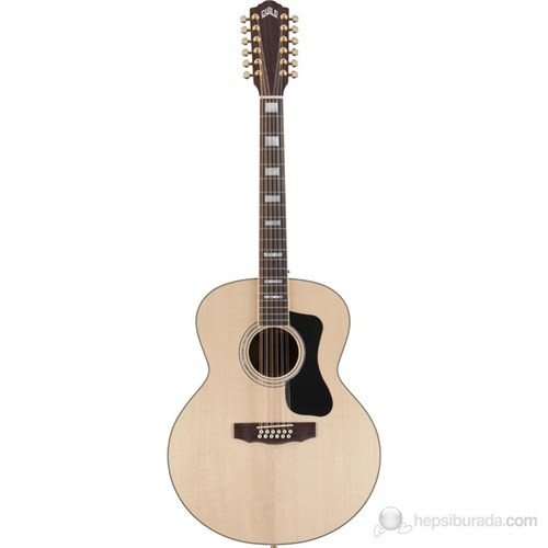 Guild F-1512E Fishman® RW NT 12 Telli Jumbo Elektro Akustik Gitar