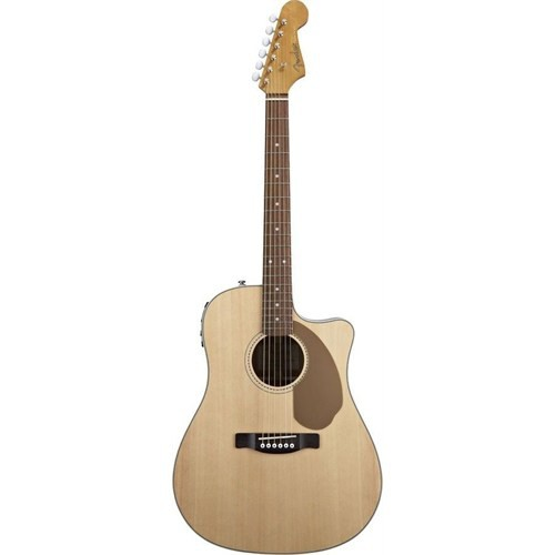 Fender Sonoran Sce Cutaway Natural Solid Spruce To