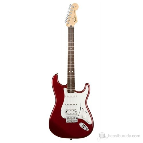 Fender Standard Stratocaster HSS RW Candy Apple Red