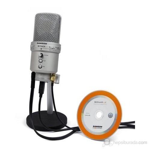 Samson G Track Ses Kartlı USB Kondenser Mikrofon