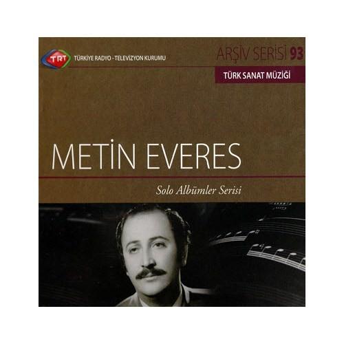 TRT Arşiv Serisi 093: Metin Everes - Solo Albümler Serisi