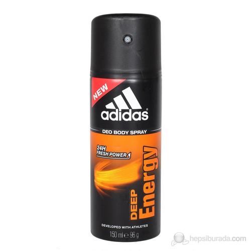 Adidas Deep Energy 150 Ml Erkek Deodorant