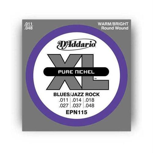 Daddario Epn115 Blues/Jazz Elektro Gitar Tel