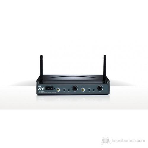 JTS US-8002D - Dijital Çift Anten Çift Yaka Telsiz Mikrofon Seti