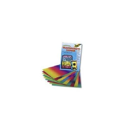 Folia Transparant Kağıtl Gökkuşağı 22x32 cm 10 Yaprak, 100 gsm, (785)