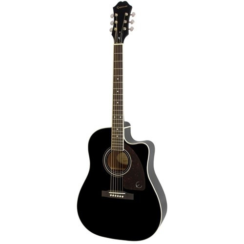 Epıphone Ee2sebnh3 Aj-220Sce Ebony Elektro Akustik Gitar