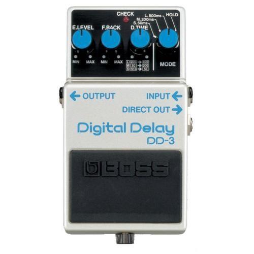 Boss Dd-3(T) Digital Delay Compact Pedal