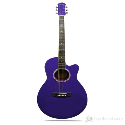 Clariss Cag-100Ce/Pp Elektro Akustik Gitar