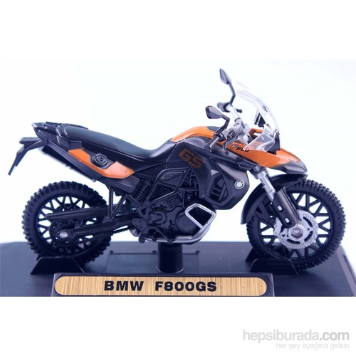 Diecast Bmw F800gs 1/18 Die Cast Model Motorsiklet