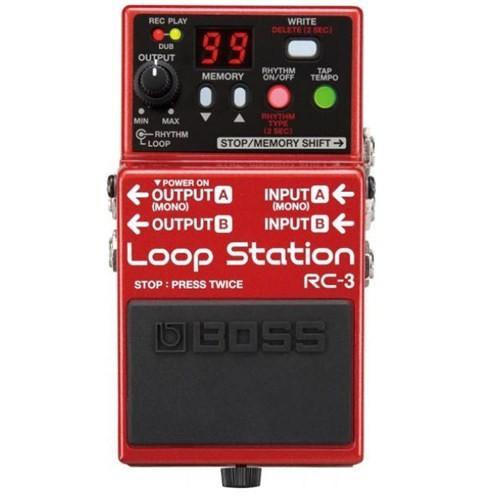 Boss Rc-3(T) Looper Pedalı