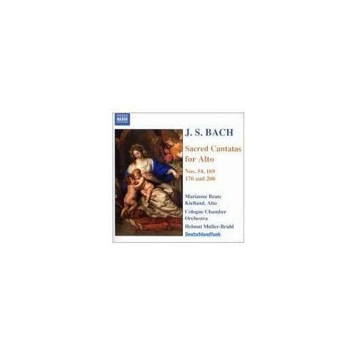 J. S. Bach - Sacred Cantatas For Alto Nos. 54, 169, 170 And 200 Cd