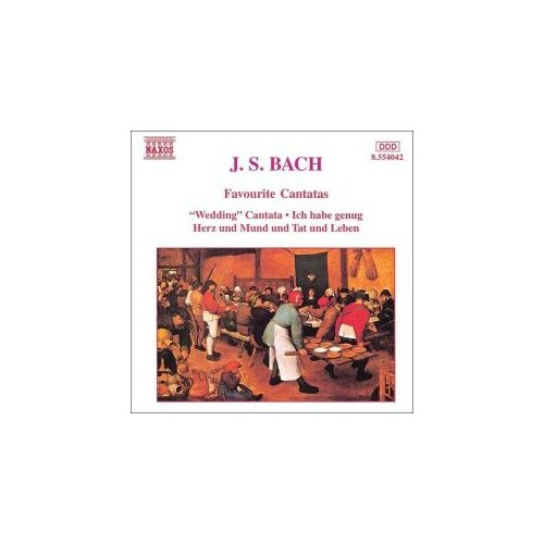 J. S. Bach - Favourite Cantatas Cd