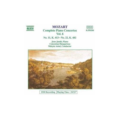 Mozart - Complete Piano Concertos Vol. 6 - Nos. 11 & 22 Cd
