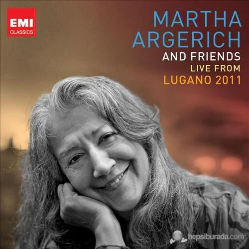 Martha Argerich - Martha Argerich and Friends Live From The Lugano Festival 2012 (3 CD)
