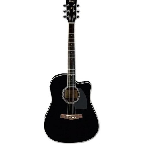 Ibanez Pf15Ece-Bk Elektro Akustik Gitar