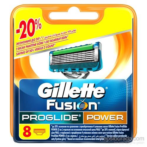 Gillette Fusion ProGlide Power Yedek Tıraş Bıçağı 8'li