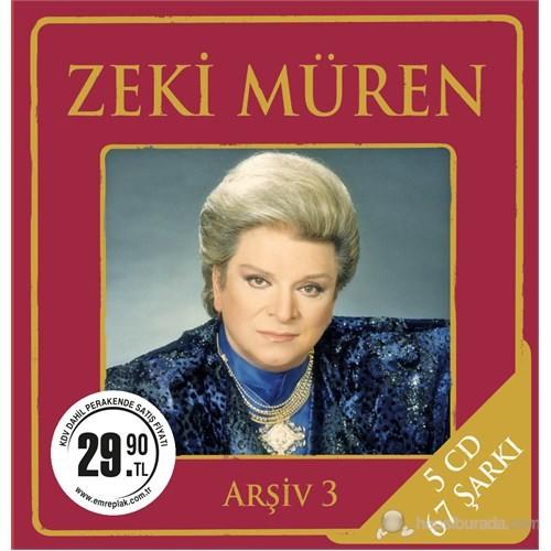 Zeki Müren - Arşiv 3 (5CD Box)