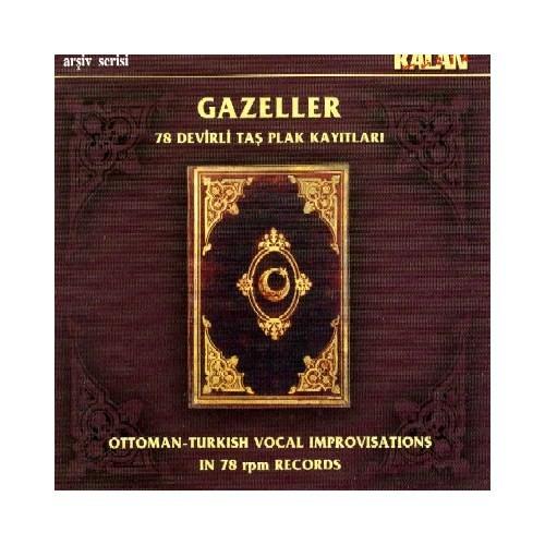 Gazeller 1 - 78 Devirli Taş Plak Kayıtları (CD+KİTAP)