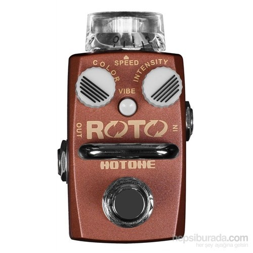 Hotone ROTO SRT-1 Single Footswitch Analog Rotary Speaker Simulator Pedal