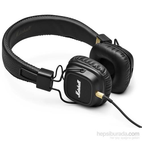 Marshall Majör II Kulaküstü Kulaklık (Siyah)