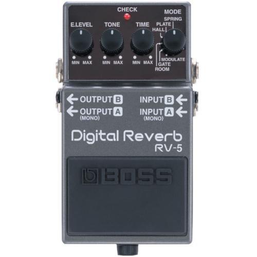 Boss Rv-5(T) Digital Reverb Compact Pedal