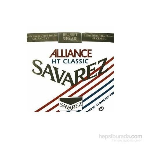 Savarez 500Arj Allıance/Ht Classıc Rouge/Blue Klasik Gitar Teli