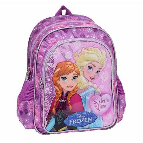Frozen Karlar Ülkesi Okul Sırt Çantası Mor Parıltılı 87383