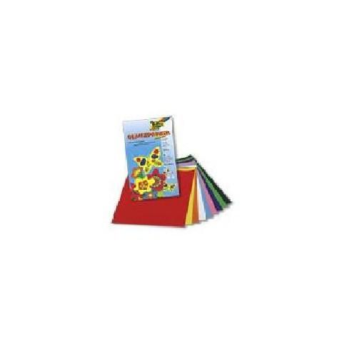 Folia Elişi Kağıdı (750) 18,5 x 29,5 cm 10 Farklı Renk, Parlak