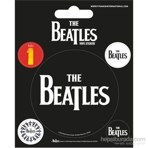 The Beatles (Black) Etiket