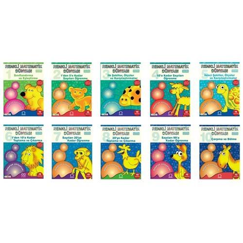 Renkli Matematik Dünyası Seti (10 Kitap)