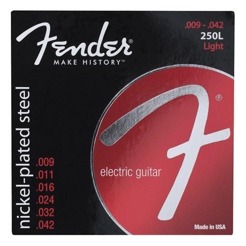 Fender Super 250s Guitar Strings, Nickel Plated S